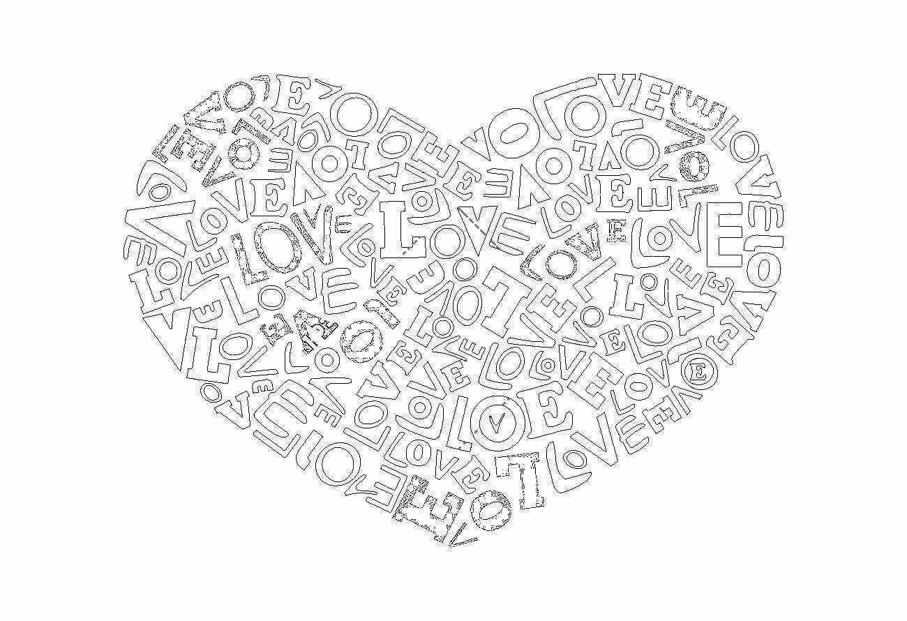 den-svjatogo-valentina-raskraski-na день святого валентина раскраски на