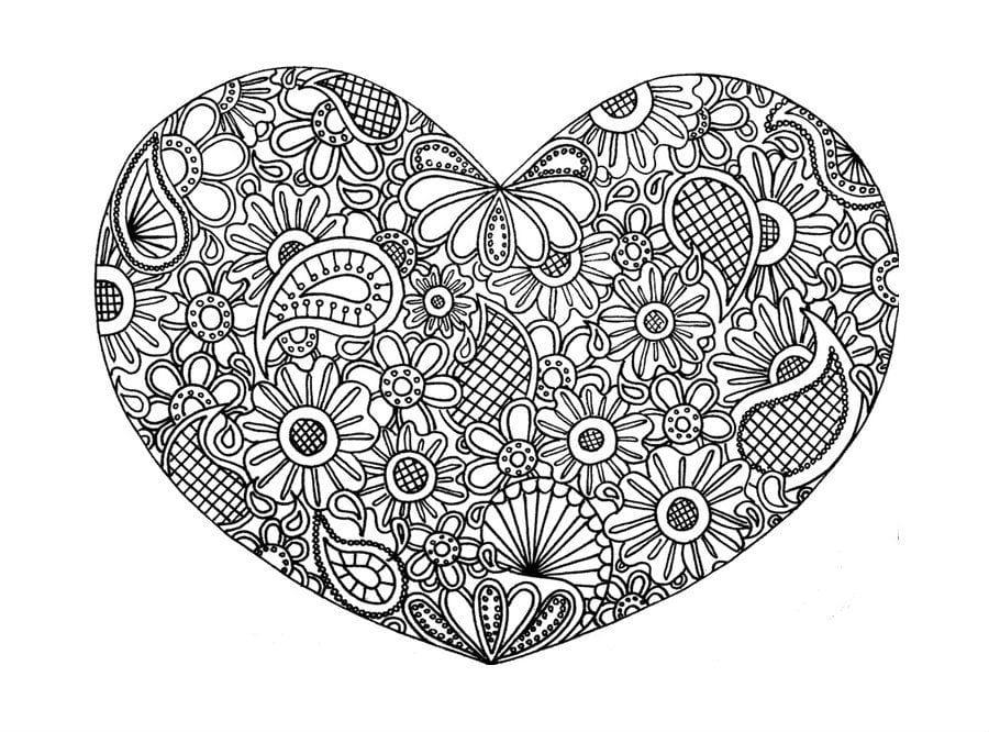 den-svjatogo-valentina-raspechatat-besplatno день святого валентина распечатать бесплатно раскраски на