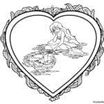 день влюбленных бесплатно раскраски