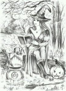 детей скачать раскраски хэллоуин для
