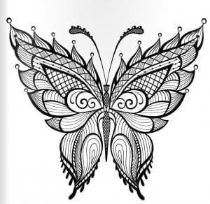 девочек бабочки распечатать бесплатно раскраски для