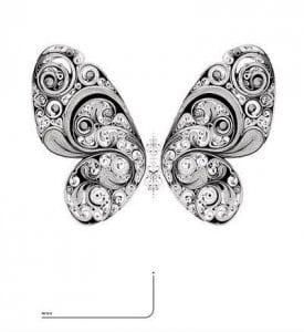 для детей бабочки распечатать бесплатно раскраски