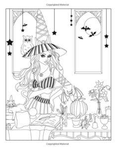 для детей хэллоуин картинки раскраски