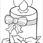 для детей распечатать раскраски про новый год А4