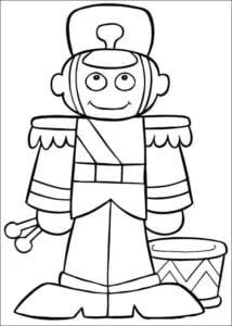 для детей с новым годом 2017 раскраски А4