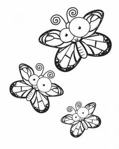 dlja-devochek-cvety-i-babochki-raspechatat-240x300 Бабочки