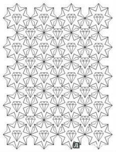 мандала очень сложный узор раскраска
