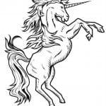 для девочек лошадки и единороги раскраски