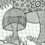 дудлинг легкие рисунки