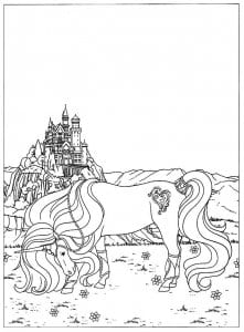 edinorog-raskraska-loshadka-221x300 Лошади и единороги