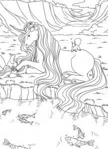 edinorog-raskraska-raspechatat-217x300 Лошади и единороги