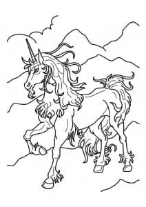 edinorog-raskraska-vzroslyh-212x300 Лошади и единороги