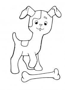 гав картинки раскраски котенок по имени