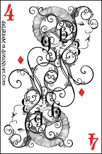 igralnye-karty-raskraska-6 игральные карты раскраска (6)