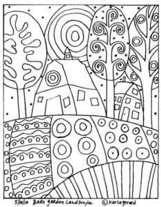 карлы жерар раскраски