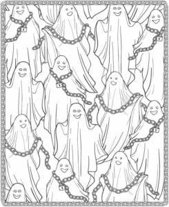 картинки на хэллоуин раскраски распечатать бесплатно