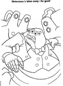 kartinki-raskraski-korporacija-monstrov-221x300 Корпорация монстров