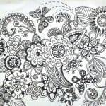 картинки раскраски распечатать бабочки