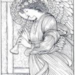 картины известных художников раскраска (3)