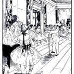картины известных художников раскраска (7)