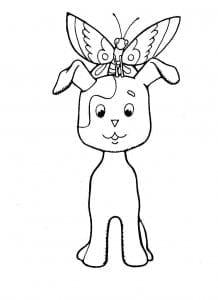 котенок по имени гав картинки раскраски