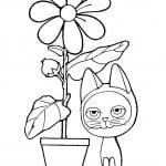 котенок по имени гав раскраска распечатать
