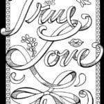 красивая бесплатно 14 февраля раскраска распечатать