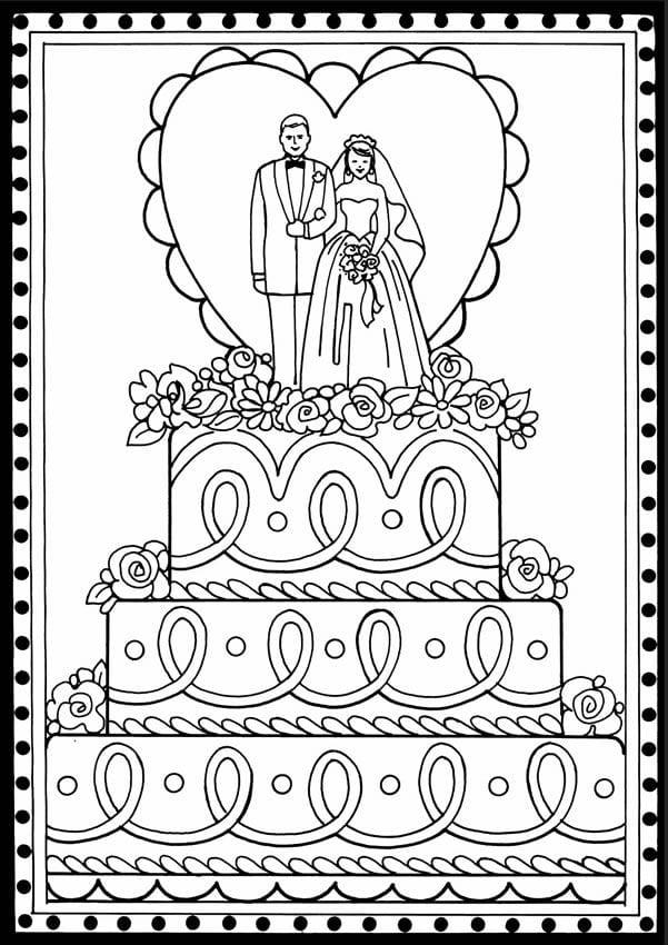 Открытка с днем свадьбы раскраска, открытку