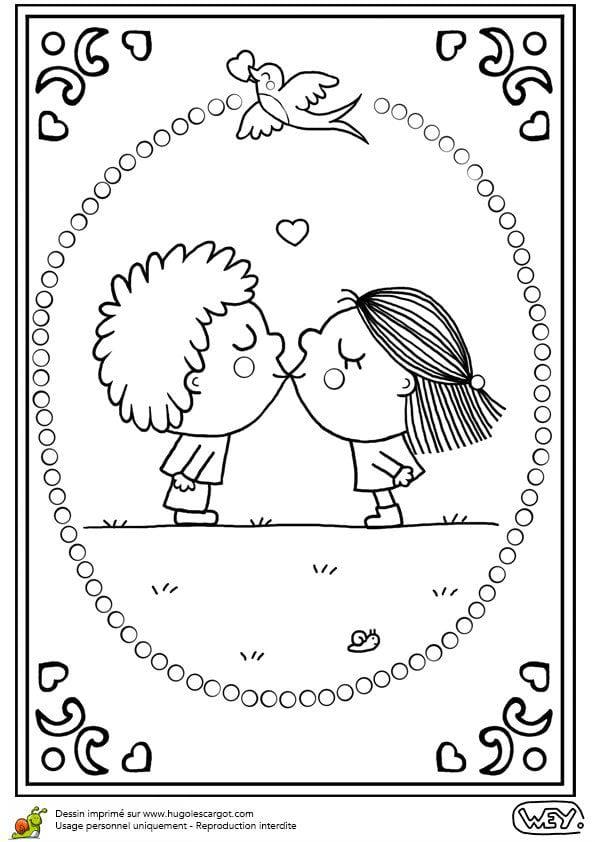 красивая день распечатать бесплатно раскраски валентинов
