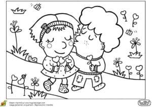 красивая день распечатать раскраски валентинов