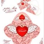 красивая дню валентина скачать бесплатно раскраска