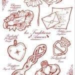 красивая на день святого валентина бесплатно раскраски
