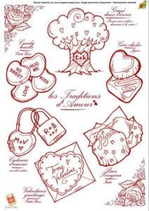 красивая на день святого валентина распечатать бесплатно раскраски