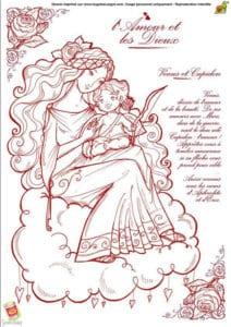 красивая на день святого валентина распечатать раскраски