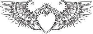 krasivaja-raskraski-na-valentin-den-besplatno красивая раскраски на валентин день распечатать бесплатно