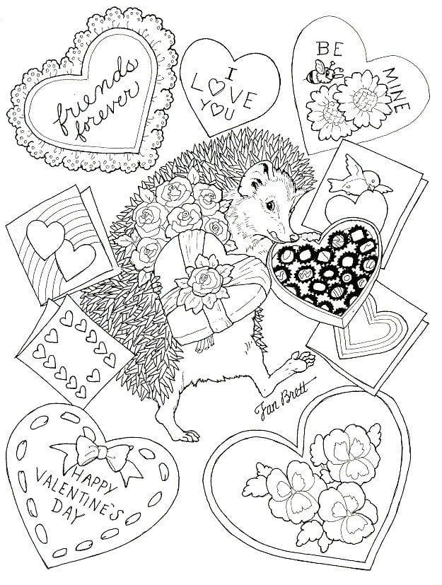 Картинки любимой, открытка ко дню святого валентина на печать