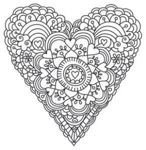 krasivaja-raskraski-valentinov-den-raspechatat красивая раскраски валентинов день распечатать