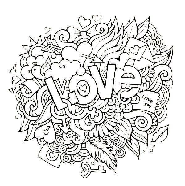 krasivaja-raspechatat-raskraski-den-vljublennyh красивая распечатать раскраски день влюбленных