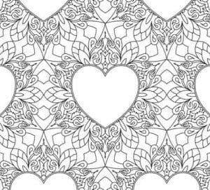 красивая скачать бесплатно раскраска дню валентина