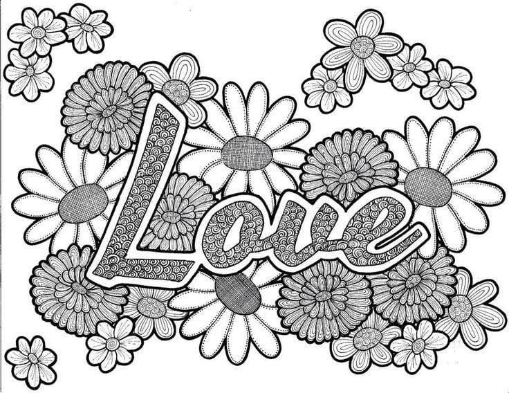 krasivaja-svjatogo-valentina-raspechatat-besplatno красивая святого валентина распечатать бесплатно раскраски на день