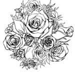 красивая валентинов день распечатать бесплатно раскраски