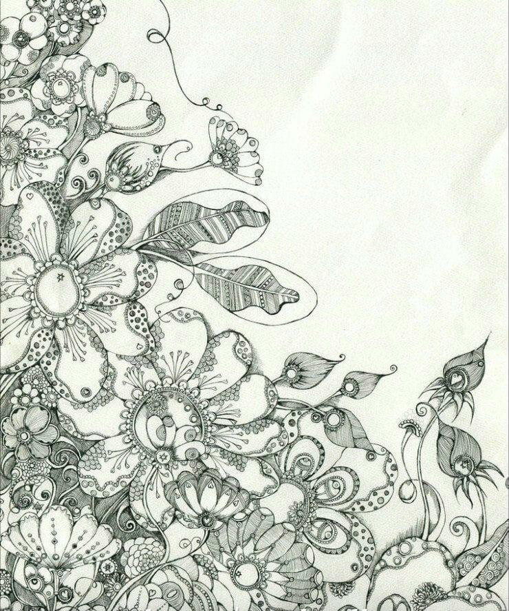 раскраска для детей узоры и орнаменты - Рисовака