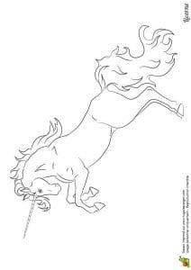 лошади онлайн раскраски
