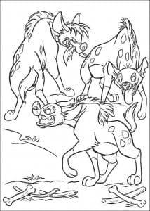 лев раскраски для мальчиков король