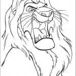 лев раскраски король