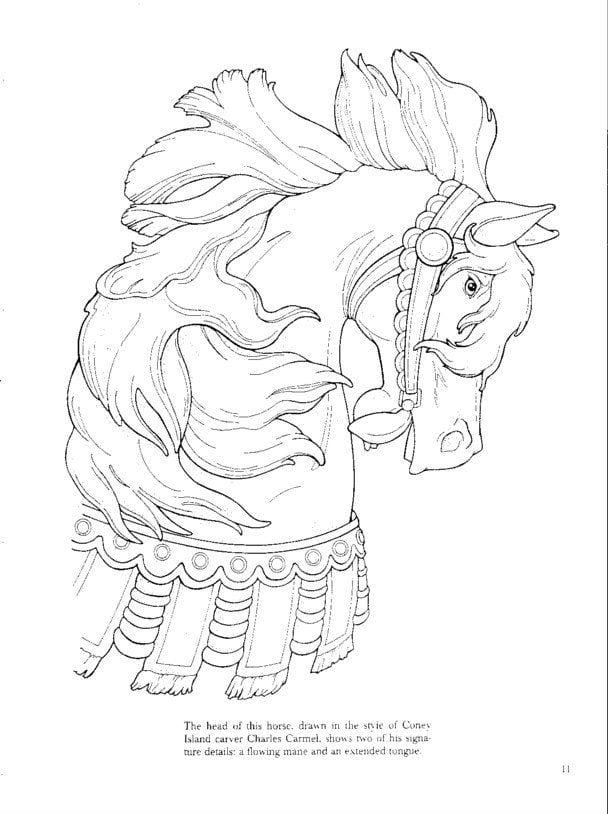 лошади раскраски антистресс рисунок кони