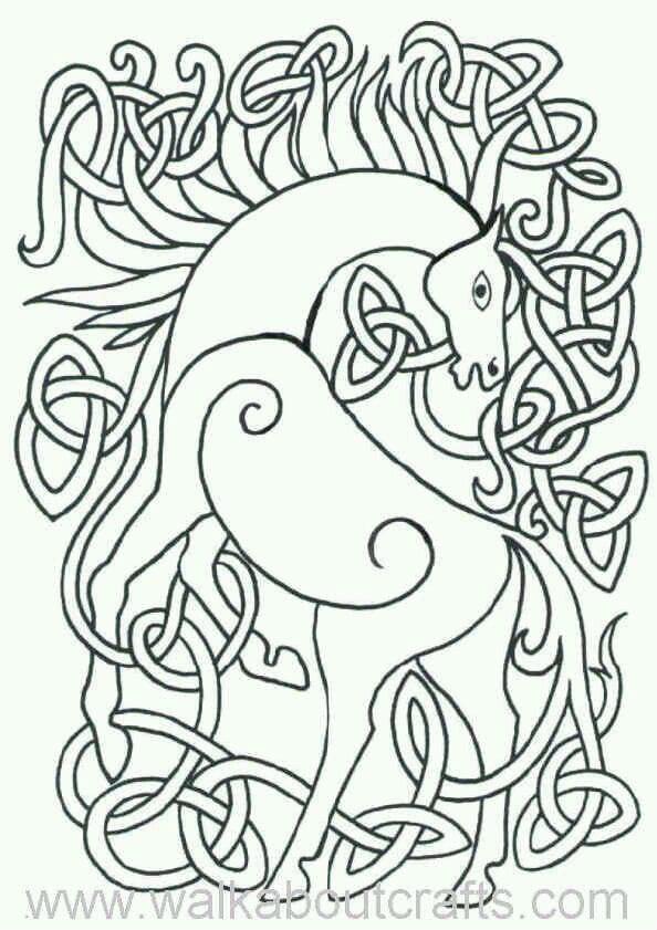 лошади раскраски антистресс