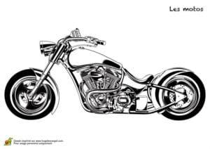мотоцикл раскраска гоночный