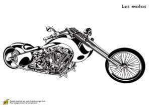 мотоцикл раскраска смотреть бесплатно