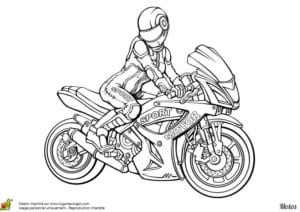 мотоцикл смотреть раскраска